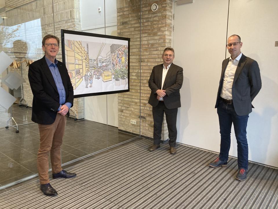 Afbeelding 1 - Nieuwe Breehoek wordt concreet - November 2020
